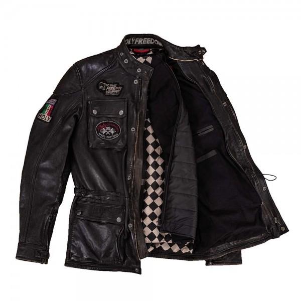 "HOLY FREEDOM Jacket - ""Quattro"" - black"