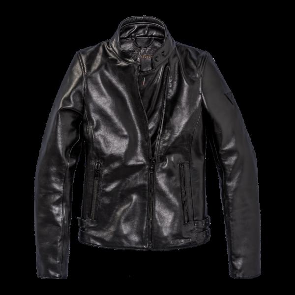 "DAINESE 72 Women's Jacket - ""Chiodo 72 Lady"" - black"