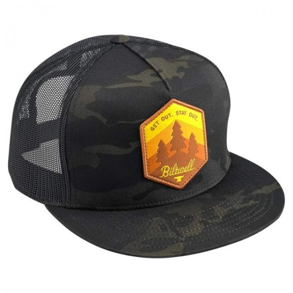 BILTWELL hat Get Out in black and camouflage