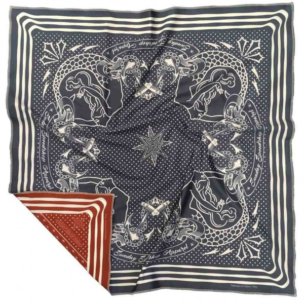 "SUNDAY SPEEDSHOP Foulard - ""Galion"""