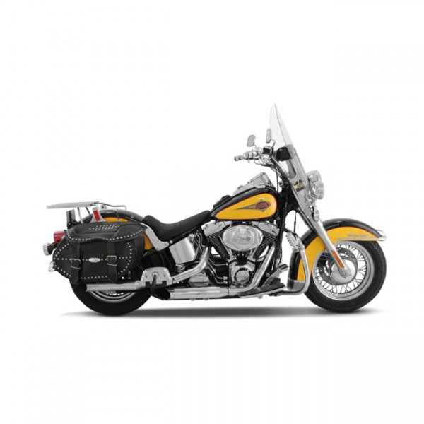 "MUSTANG Sitz - ""Mustang, Runaroundâ""¢ solo seat"" - 00-06 FLSTC/F; 2006 FLST; 2005 FLSTSC ; 00-05 FXS"