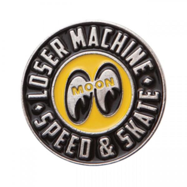 "LMC Anstecker Pin - ""LMC x Mooneyes"""