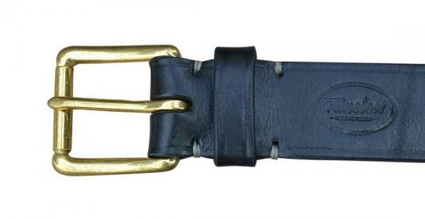 Timeless Leather Standard Belt 4cm black