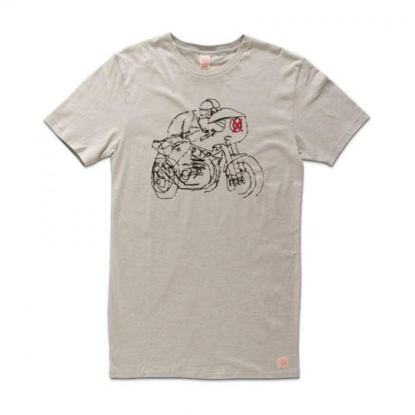 "DEUS EX MACHINA T-Shirt - ""Lele Rider"" - grau"