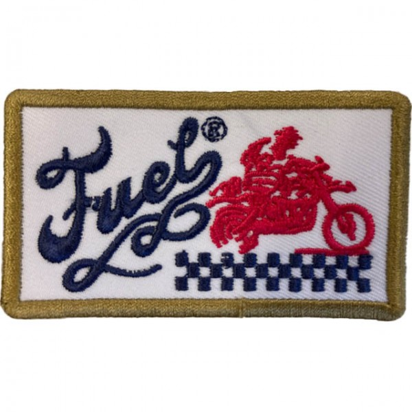 FUEL Aufnäher Motorcycle Patch