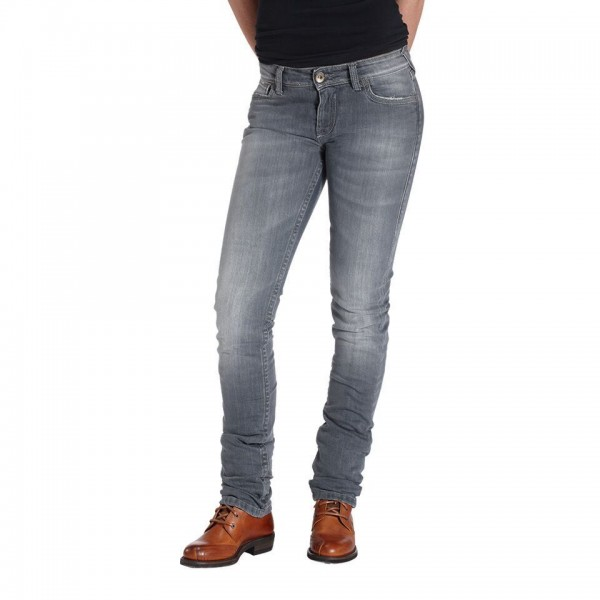 """ROKKER Women's Jeans - """"The Donna"""" - grey"""