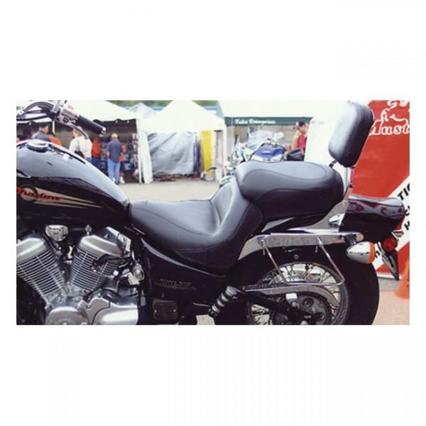 "MUSTANG Sitz - ""Mustang 1-piece 2-up wide touring vintage seat plain black"" - 99-08 Honda VTX600 Sha"