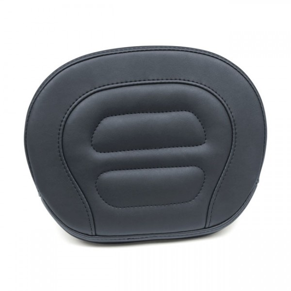 "MUSTANG Seat - ""Mustang, Vintage sissy bar back pad. Black"" - 13-17 Softail FXSB Breakout(NU)"