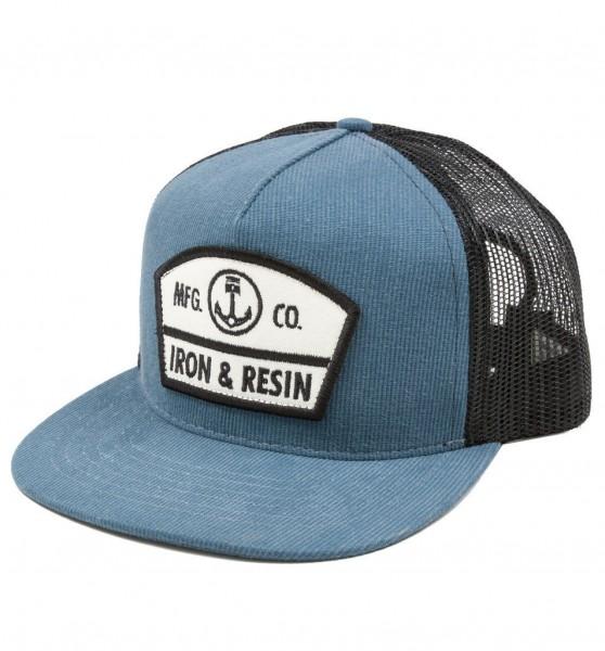"IRON & RESIN Cap - ""Randall"" - blau"