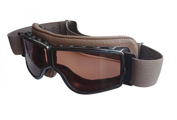 AVIATOR Brille T2 sand gunmetal braun