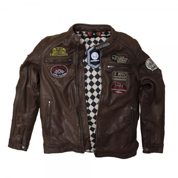 "HOLY FREEDOM Jacket - ""Zero CE"" - brown"
