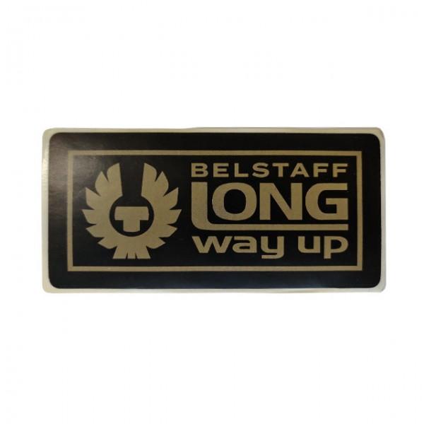 BELSTAFF Sticker Long Way Up in black