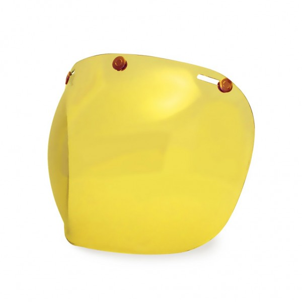 Hedon Hedonist Visier Bubble gelb, Kupfer
