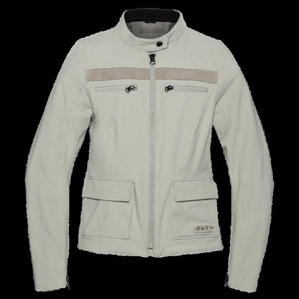 "DAINESE 72 Women's Jacket - ""Kiffa Lady Tex"" - feather gray"